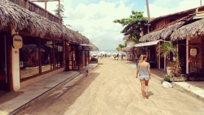 De camino a la playa - On my way to the beach